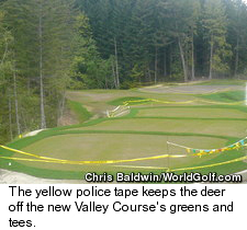 Bear Mountain - New Valley Course - Yellow Police Tape