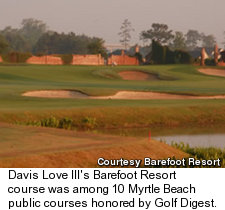 Davis Love III's Barefoot Resort