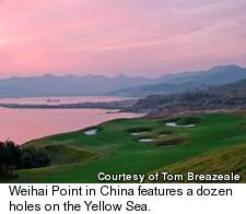 Weihai Point Golf Course - Yellow Sea