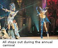 Gran Canaria annual carnival